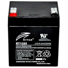 RITAR 12v 5.5Ah SLA Battery